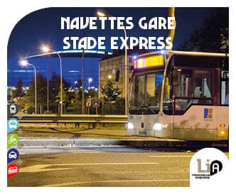 Navettes Gare Stade Express